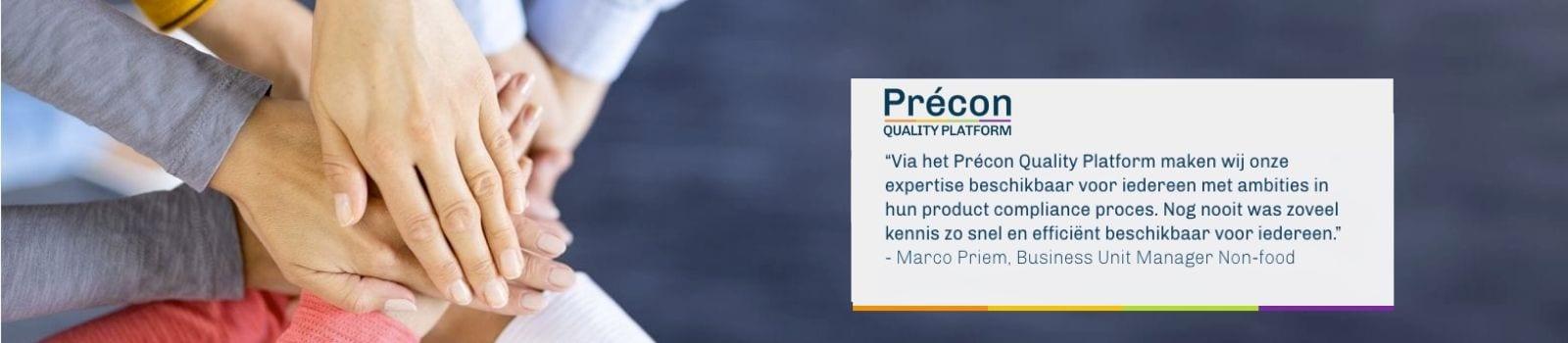 Précon Quality Platform